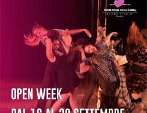 iscrizioni APERTE! Open Week 16-20 Settembre